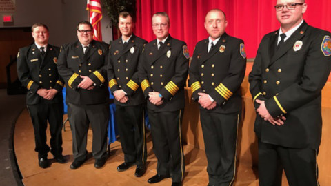 HF Fire Department has new officers