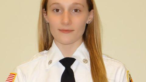 Rush EMT Jenna Cirincione receives award