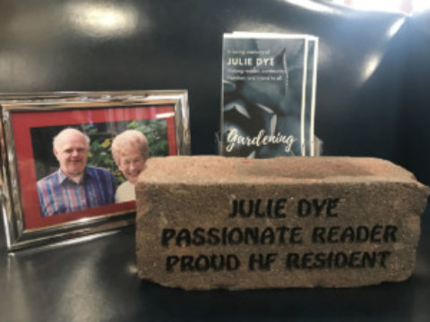 Mendon Public Library Dedicates Circulation Desk in Honor of Julie A. Dye