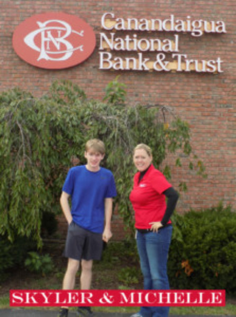 Skyler Smith's Tour of Mendon: Canandaigua National Bank