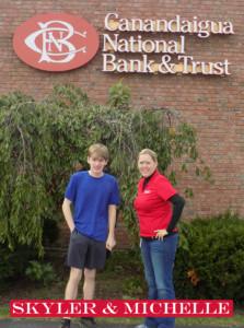 Skyler Smith's Tour of Mendon: Canandaigua National Bank