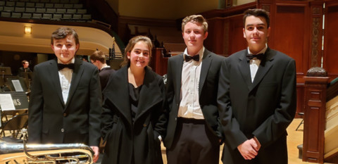 Wheatland-Chili Students Perform with Hochstein Youth Wind Symphony