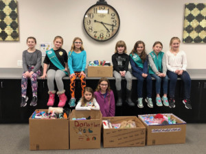 HF-L Girl Scouts Service Project for Hillside Children's Center