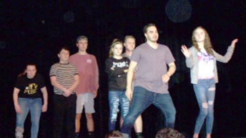 HF-L High students brings the kooky Addams Family to life in musical this weekend
