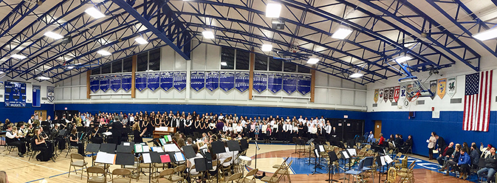 W-C concert featured 4th through 12th grade students