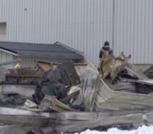 Fire at Lakelands Concrete destroys storage building