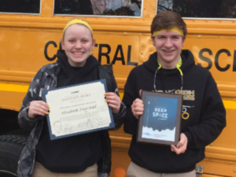 Ellie Fairchild and CougarTech Take Awards at Finger Lakes Regional