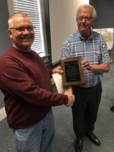 Lima Village employee Dan Dumar honored