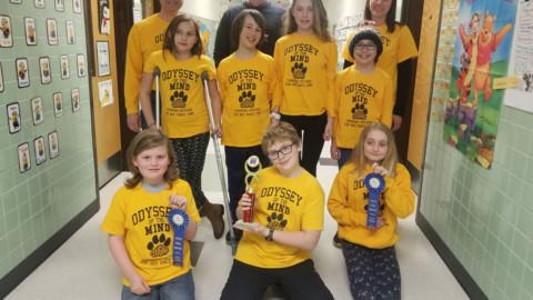 HF-L Manor School Odyssey of the Mind teams earn top spots