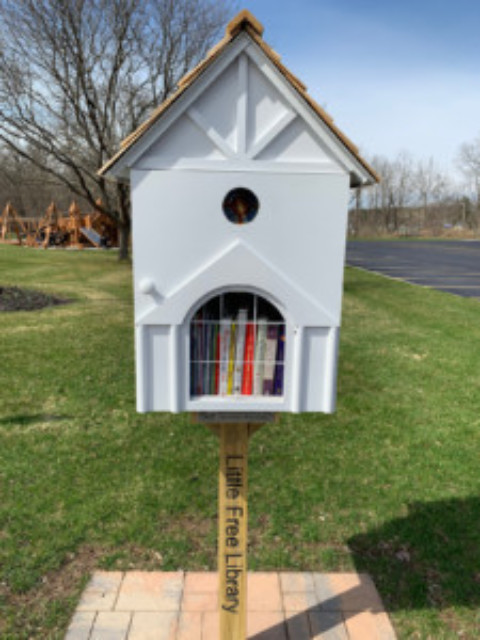 The Mendon Fire Department Auxiliary are Proud Stewards of a Little Free Library