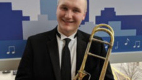 Charles Tomaszewski Selected for 2019 All-Eastern Honors Band