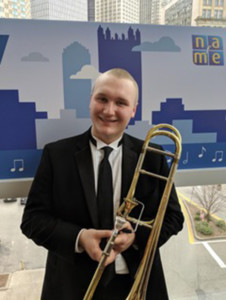 Charles Tomaszewski Selected for 2019 All-Eastern Honors Band