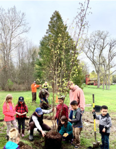 Scottsville Observes Arbor Day with New Tree Plantings