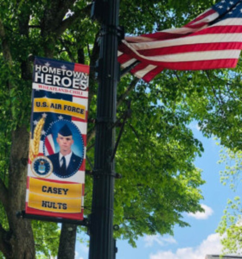 Scottsville Welcomes Hometown Heroes