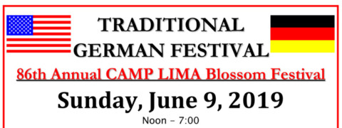 Camp Lima Blossom Fest  is June 9