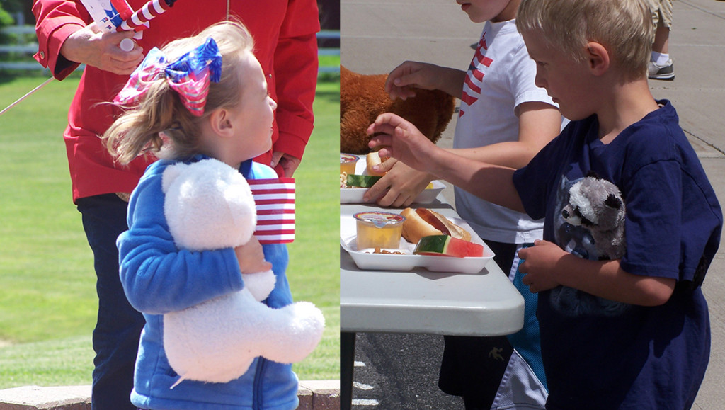 Lima Primary holds  Flag Day ceremony and Teddy Bear picnic