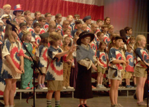 Manor School 2nd-graders honor Flag Day with production