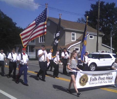 Mendon residents honor veterans on Memorial Day