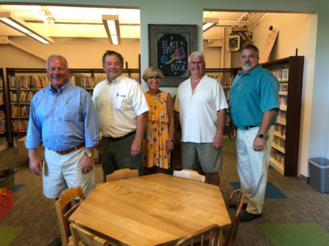 Mendon town board announces children's area at library completed