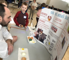 Science Fair took place at T. J. Connor Elementary School