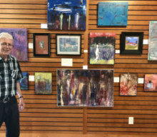 Philip Probst Displays Fine Art at Mendon Public Library