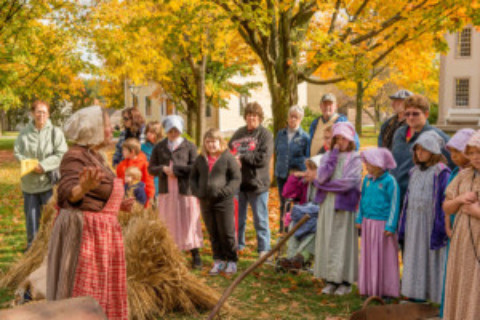 Celebrate the Western New York Harvest at Genesee Country Village & Museum's Fall Festival and Agricultural Fair!