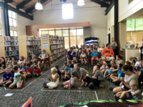"""A Universe of Stories"" was a blast(off) at  Mendon Public Library"