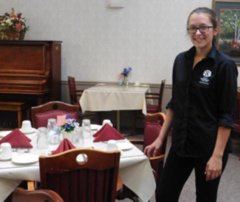 Emily VanHouter selected  Pinehurst Employee of the Quarter