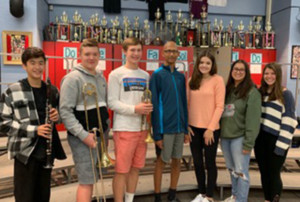 HF-L Music Students Chosen for  Area All-State Festivals