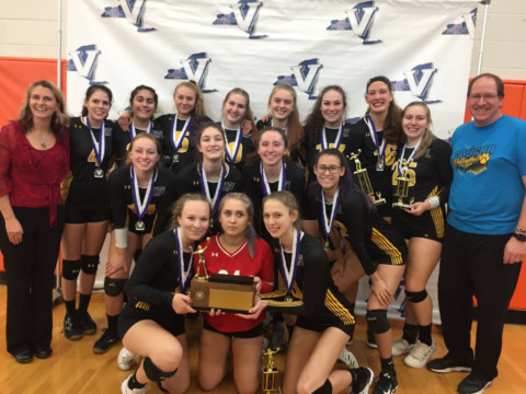 HF-L girls volleyball takes sectional title