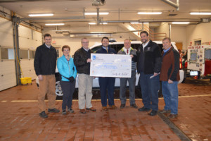 Southern Hills and Erie Insurance donate to fire and ambulance agencies