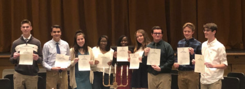 Wheatland-Chili National Honor Society welcomes inductees