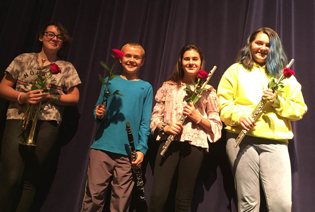 Wheatland-Chili Students Chosen for Hochstein Wind Symphony