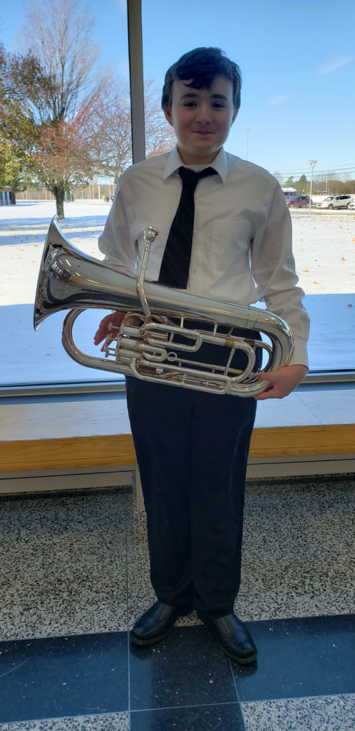 Nathaniel Fals Performs with High School Area All-State Band