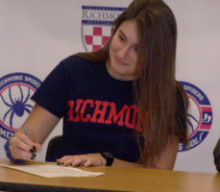 HF-L's Claire Yioulos signs with University of Richmond