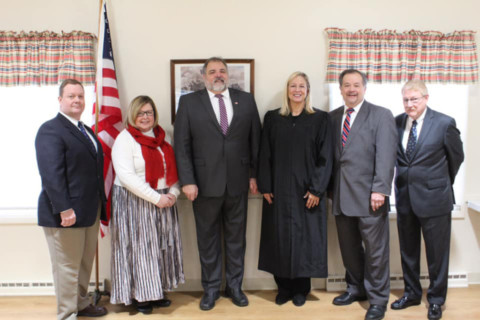 Mendon Town Officials Sworn In