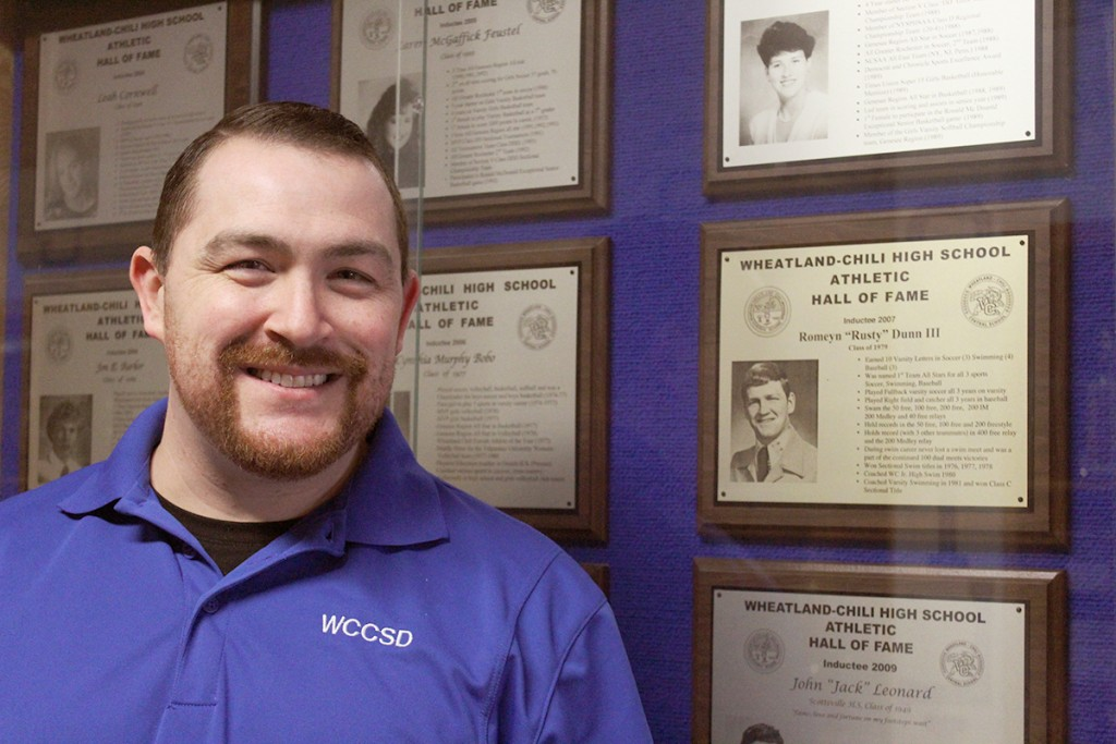 New W-C Varsity Swim Coach honors father's memory by breathing new life into team
