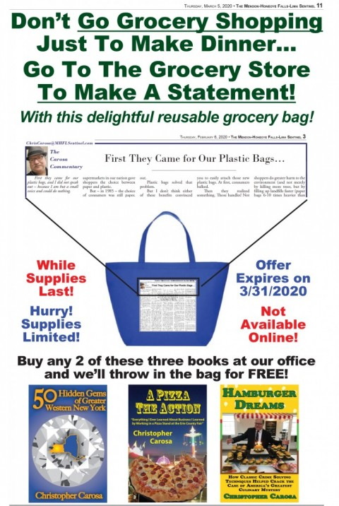 A Special Limited Time Offer From <em>The Sentinel</em>!
