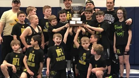 HF-L Youth Wrestling celebrates