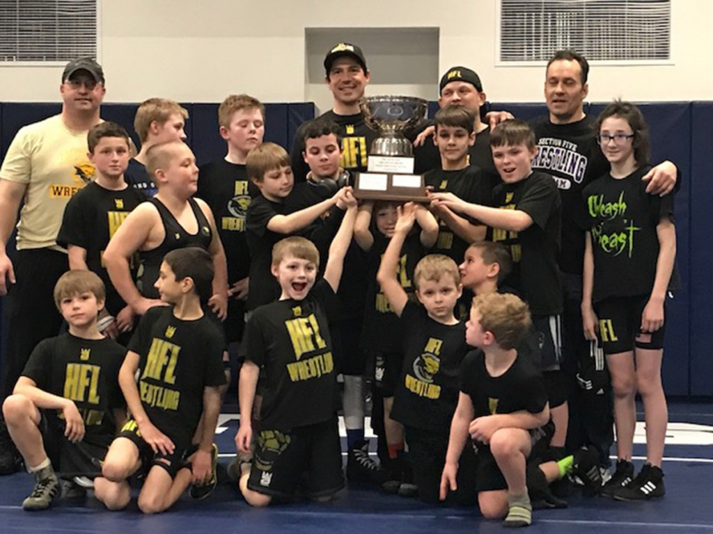 HF-L Youth Wrestling celebrates