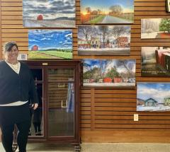 Mendon Library Now Showing Finger Lakes Photos
