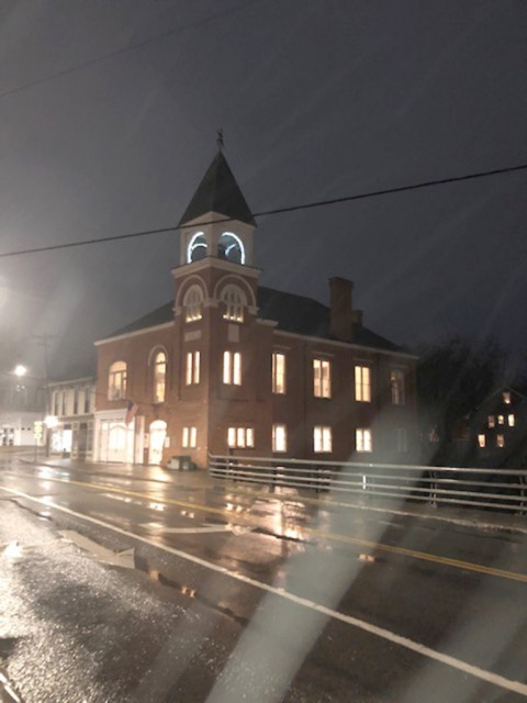 Honeoye Falls Lights Up