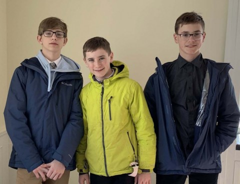 HF-L 8th grade students take 3rd at state History competition