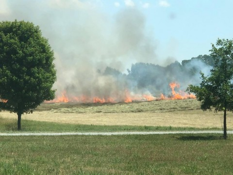 Area fire crews were kept busy recently