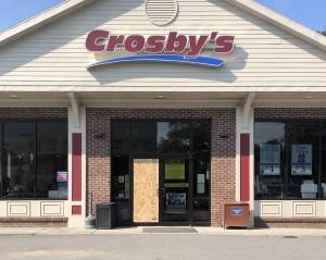 Crosby's in Mendon robbed; cigarettes stolen