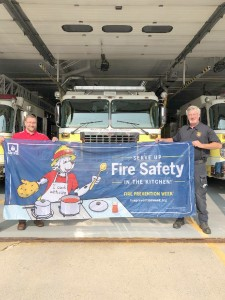 Team Raines State Farm teams up with Honeoye Falls Fire Department to serve up kitchen safety
