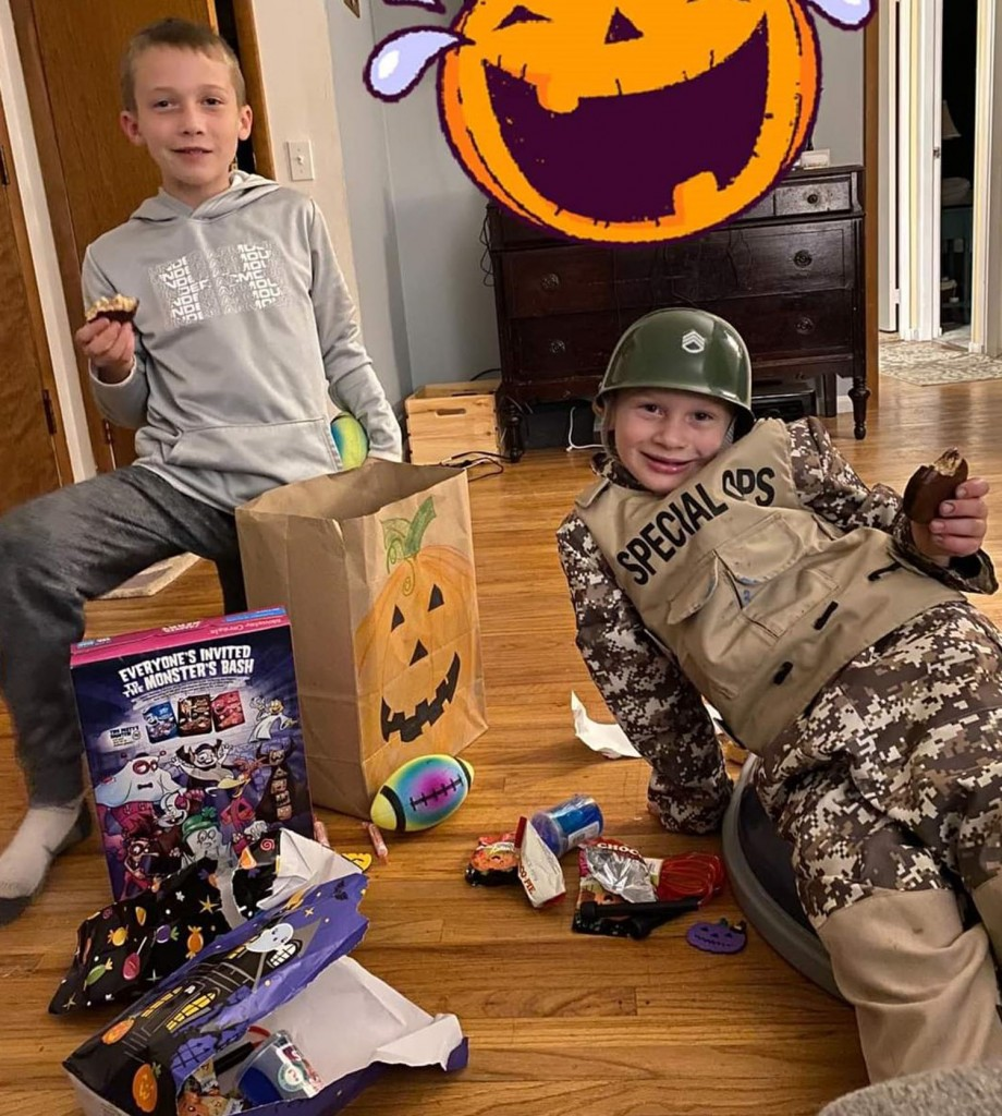 HF-L resident creates safe event for Halloween
