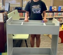 Local Teen works with Mendon Public Library towards Gold Award