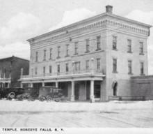 Union Star Lodge No. 320 F.&A.M. Marks Centennial of Its Masonic Temple