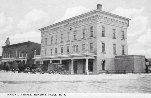 Union Star Lodge No. 320 F.&A.M. Marks Centennial of Its Masonic Temple
